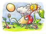 Pikmin doodles