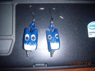 Chu Totoro Earrings