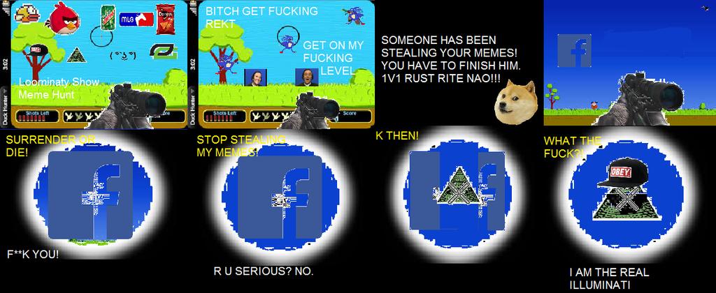 Loominaty Show Episode 2 Meme Hunt (MLG Virus) by ...