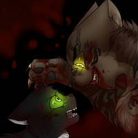 Ravenpaw's nightmare by MagicalRave