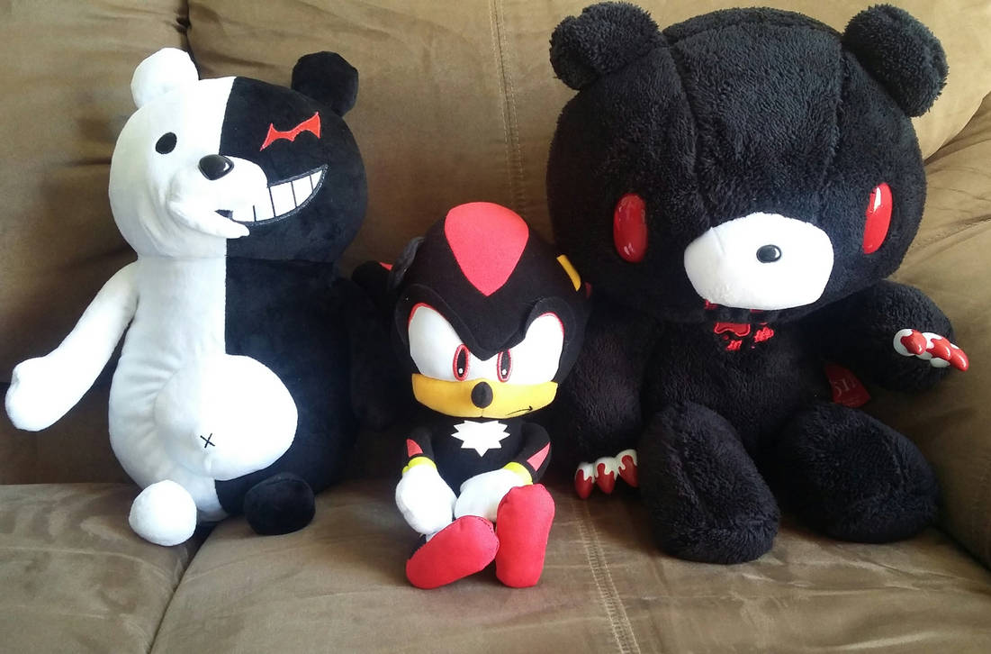 2553fc00c0f9 Monokuma, Shadow and...(I don't know his name) by CrazyBoard786 on ...