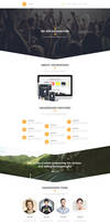 Hexagone - PSD template by tngraphic