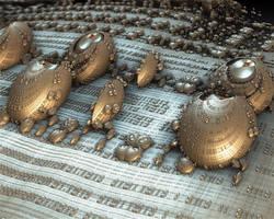 ALIENMICROBOARDSHELLS 3D by love1008