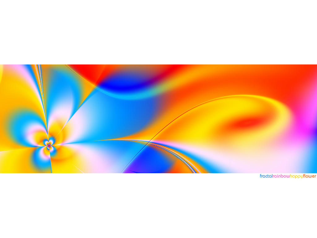 fractalRainbowHappyFlower by love1008