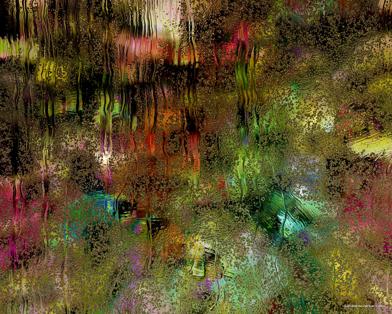 Rainy-screen-abstract by love1008