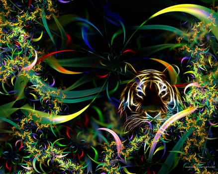 Junglefractal Tiger
