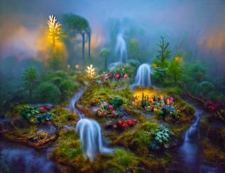 Forest stream 4