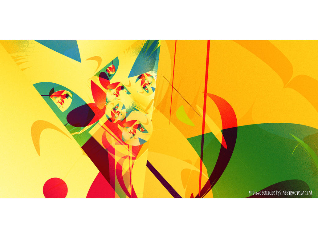 Springbutterflys fractal by love1008