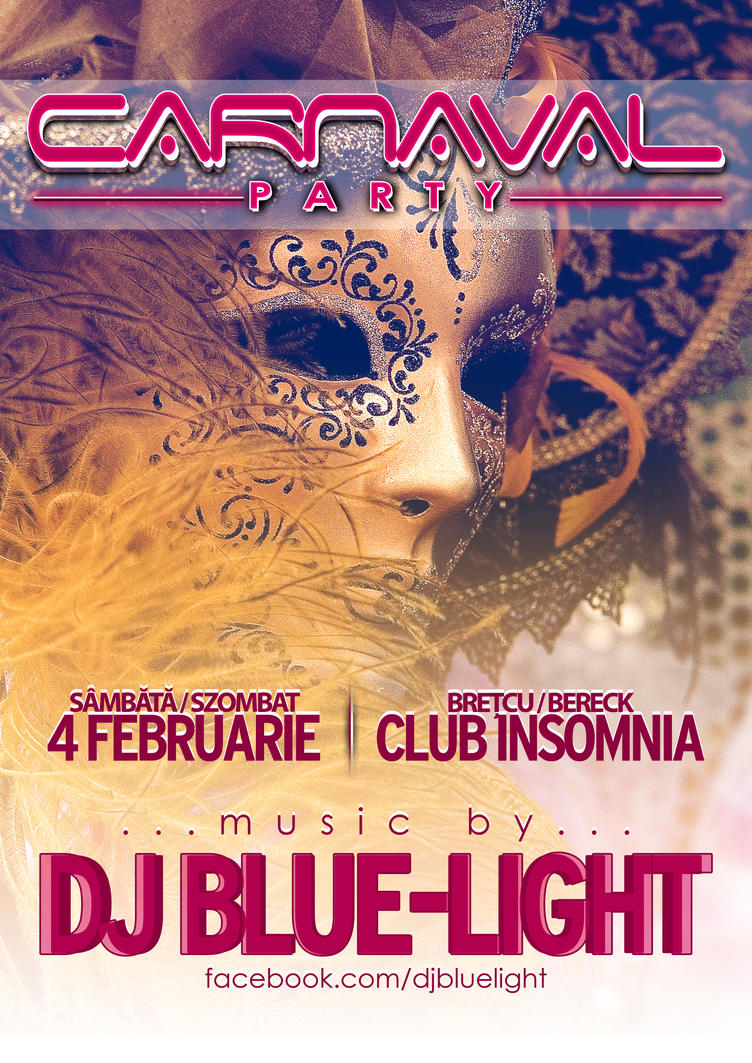 Carnaval Party - FLYER by iulian95 on DeviantArt
