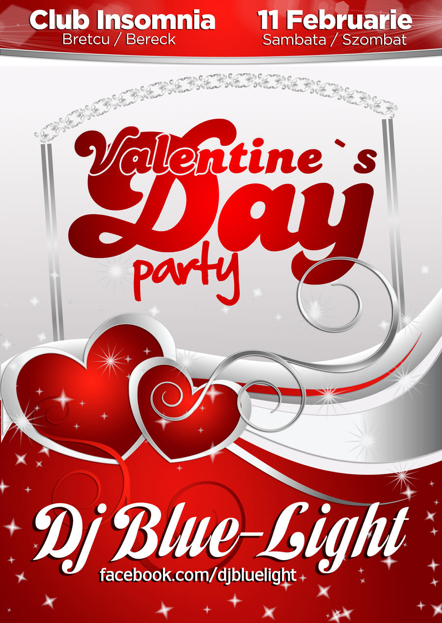 ... Valentine S Day Party   FLYER By Iulian95