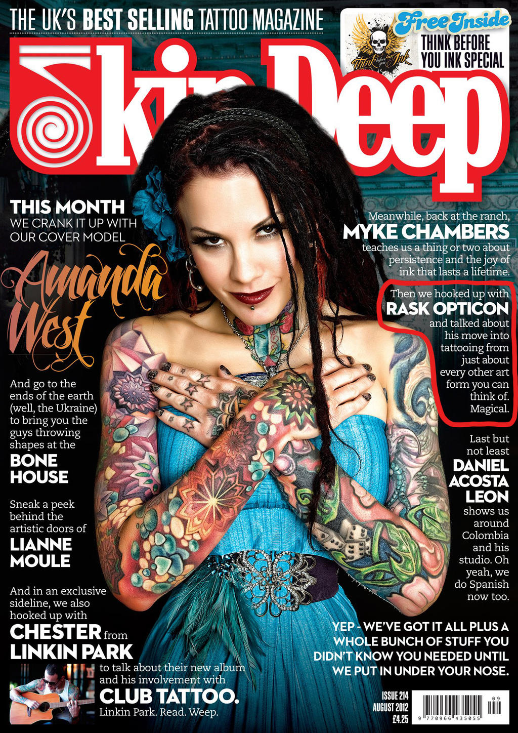 tattoo magazine free tattoo pictures