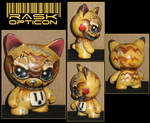 RASK OPTICON Kidrobot trikky pikachu by rAskopticon