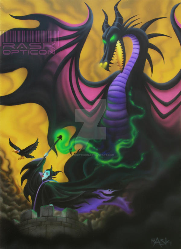 Maleficent Dragon Wallpaper Maleficent and the Dra...