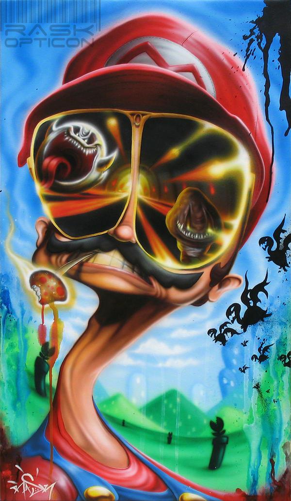 Fear and shrooming in the mushroom kingdom by Rask by rAskopticon