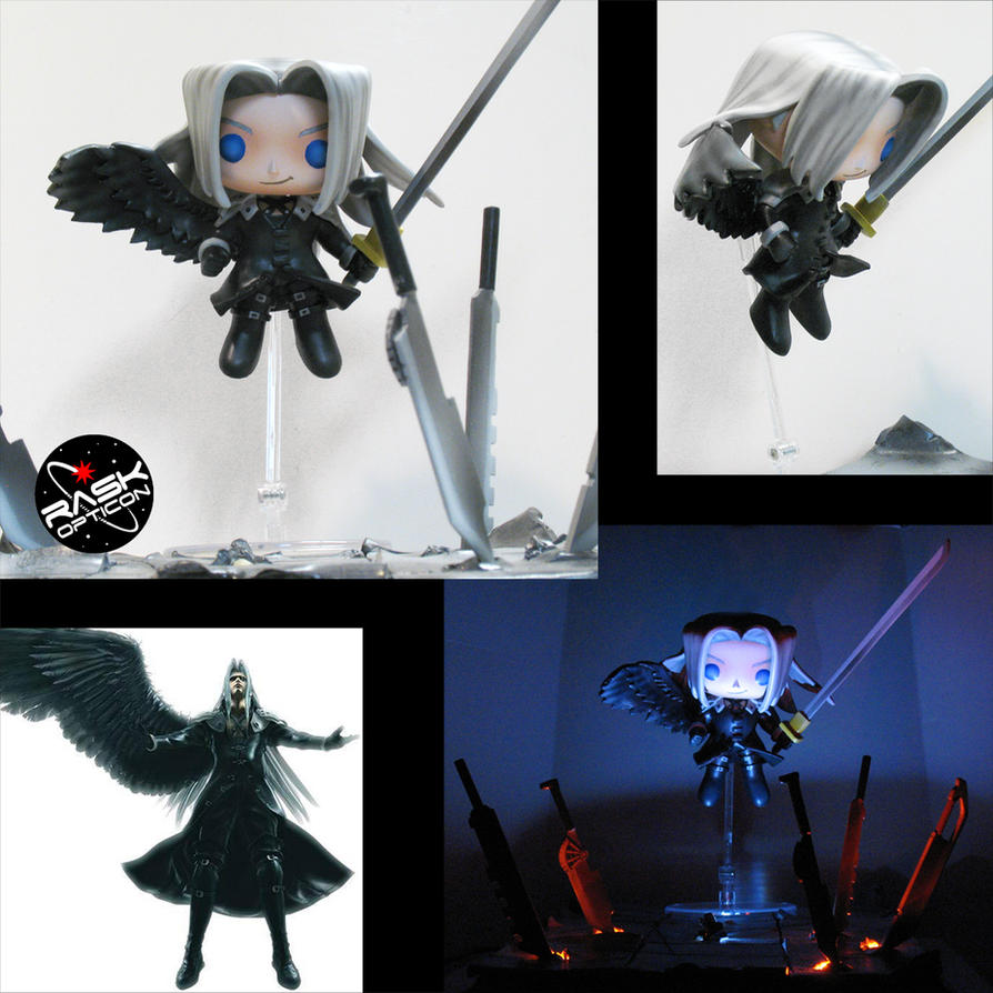 RASK sephiroth pop by rAskopticon