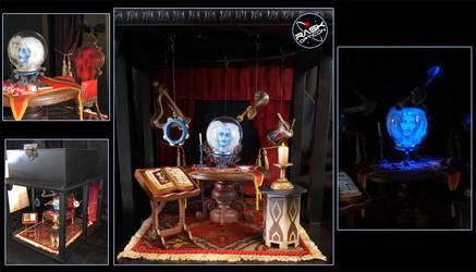 RASK Haunted Mansion Madam Leota diorama