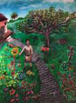 Monk and Garden