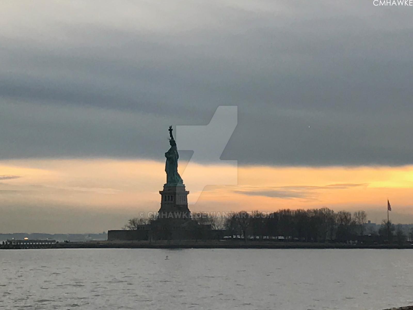 Liberty Island by cmhawke