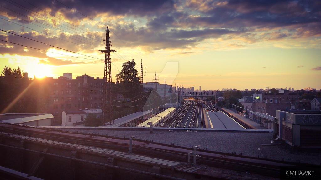 NYC train station by cmhawke