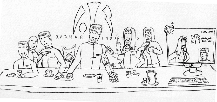 last supper colouring pages page 2