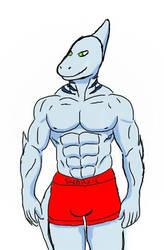 Buff Anthro Sharkie