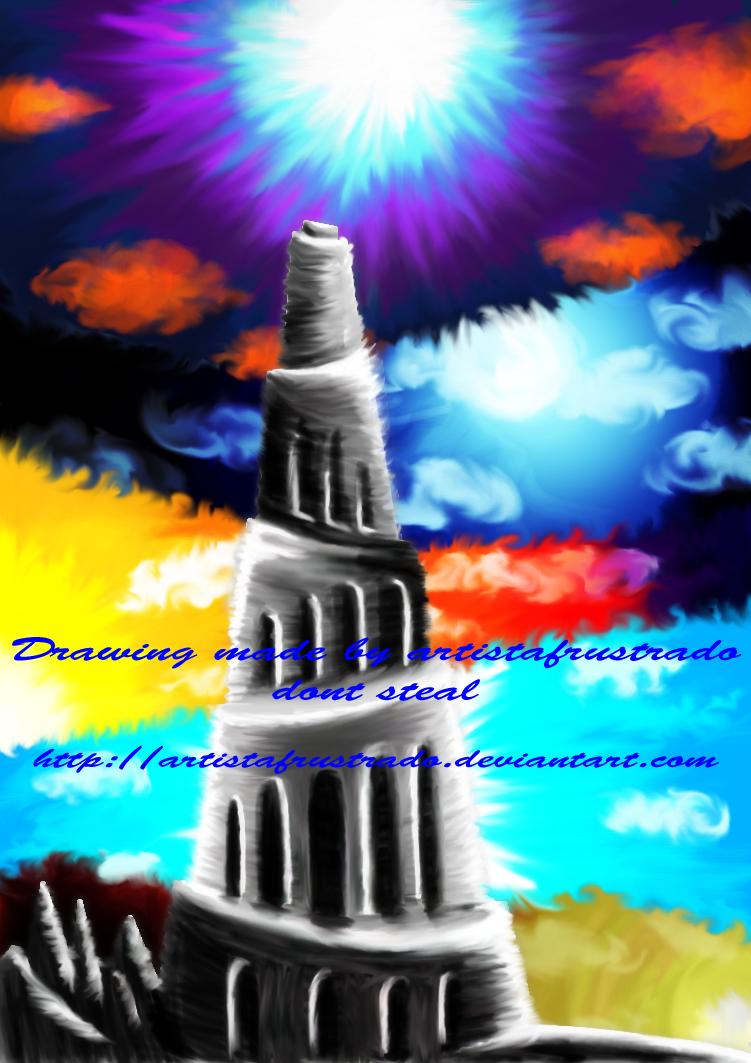 coloringscrap +torre de babel+ by artistafrustrado