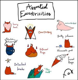 Fox's Assorted Eccentricities