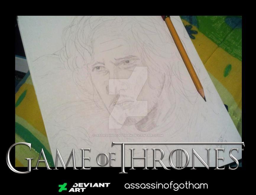 Jon Snow W.I.P by AssassinofGotham