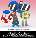 RADIO GOSHA Holiday Card