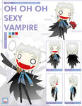 -RADIO GOSHA- Male Vampire by GoshaDole