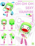 -RADIO GOSHA- Female Vampire by GoshaDole