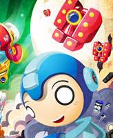 Mega Man Tribute preview by GoshaDole