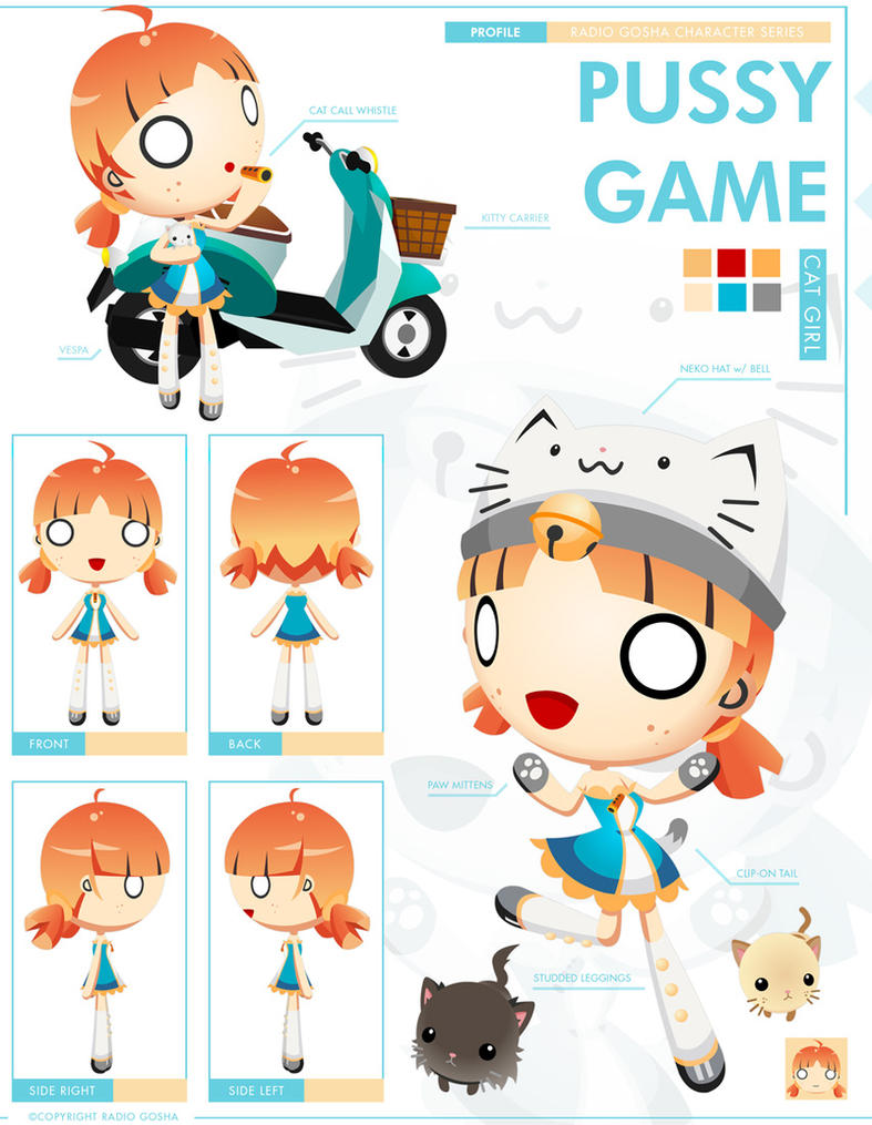 -RADIO GOSHA- Crazy Cat Girl by GoshaDole