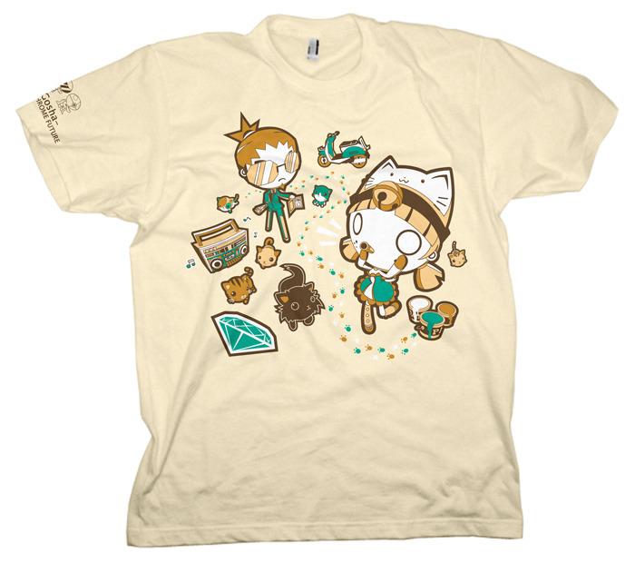 Pussy Game T-shirt Kickstarter mockup by GoshaDole