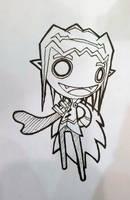 Vampy sketch by GoshaDole