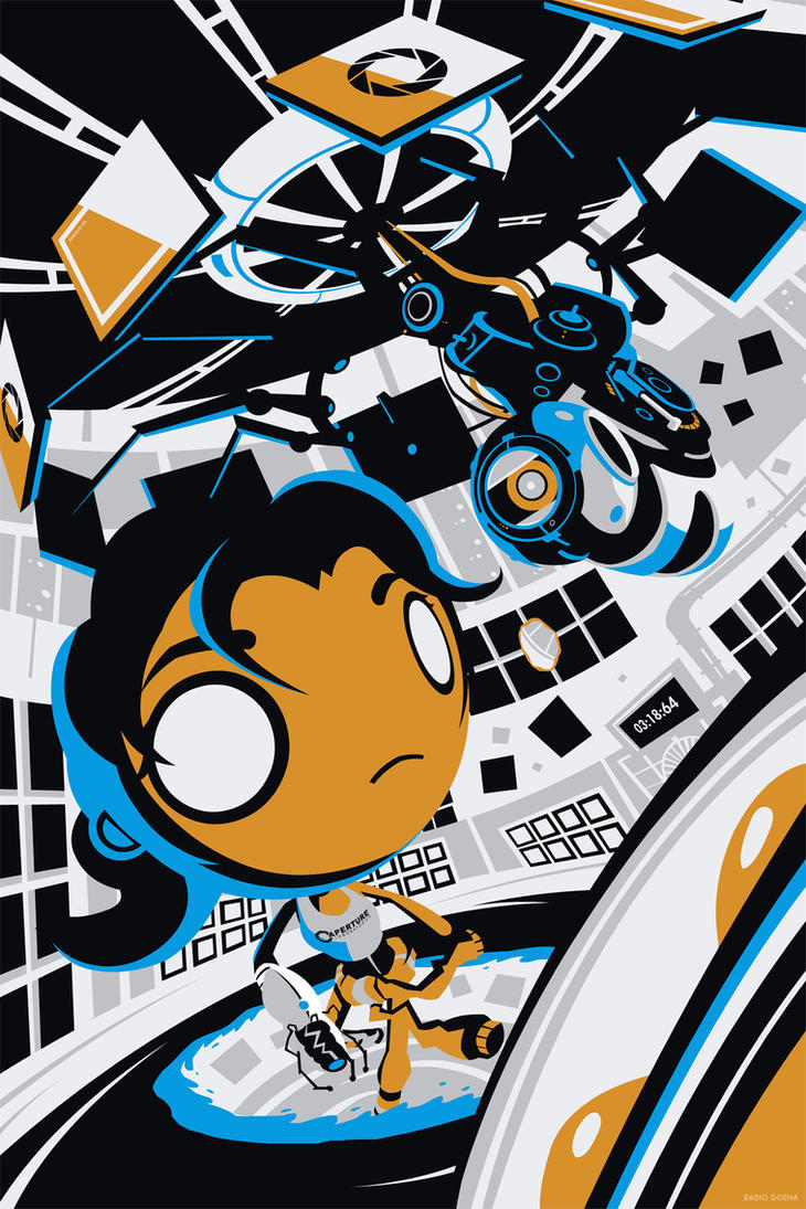 She Did All the Work - Portal 2 by GoshaDole