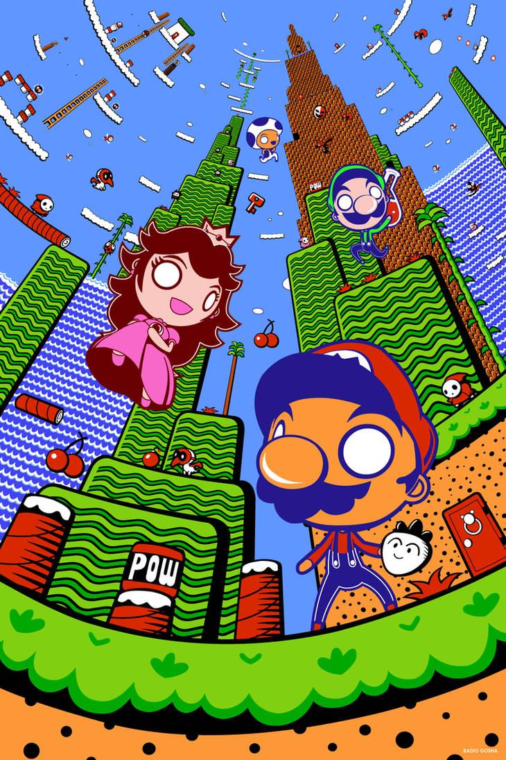 The 8 Bits of Subcon - Super Mario Bros. 2 by GoshaDole