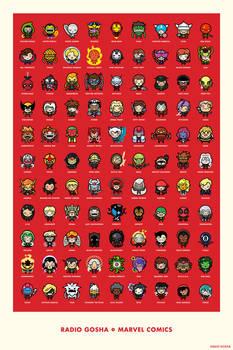 Radio Gosha x Marvel Comics