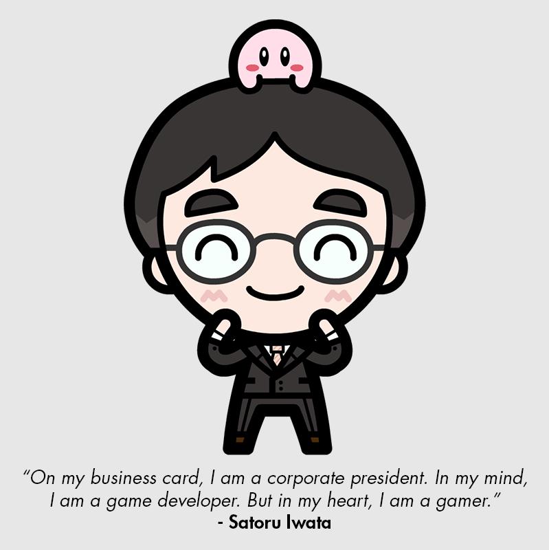 Rest in peace Mr. Iwata by GoshaDole