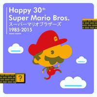 Happy 30th Super Mario Bros. from Radio Gosha by GoshaDole