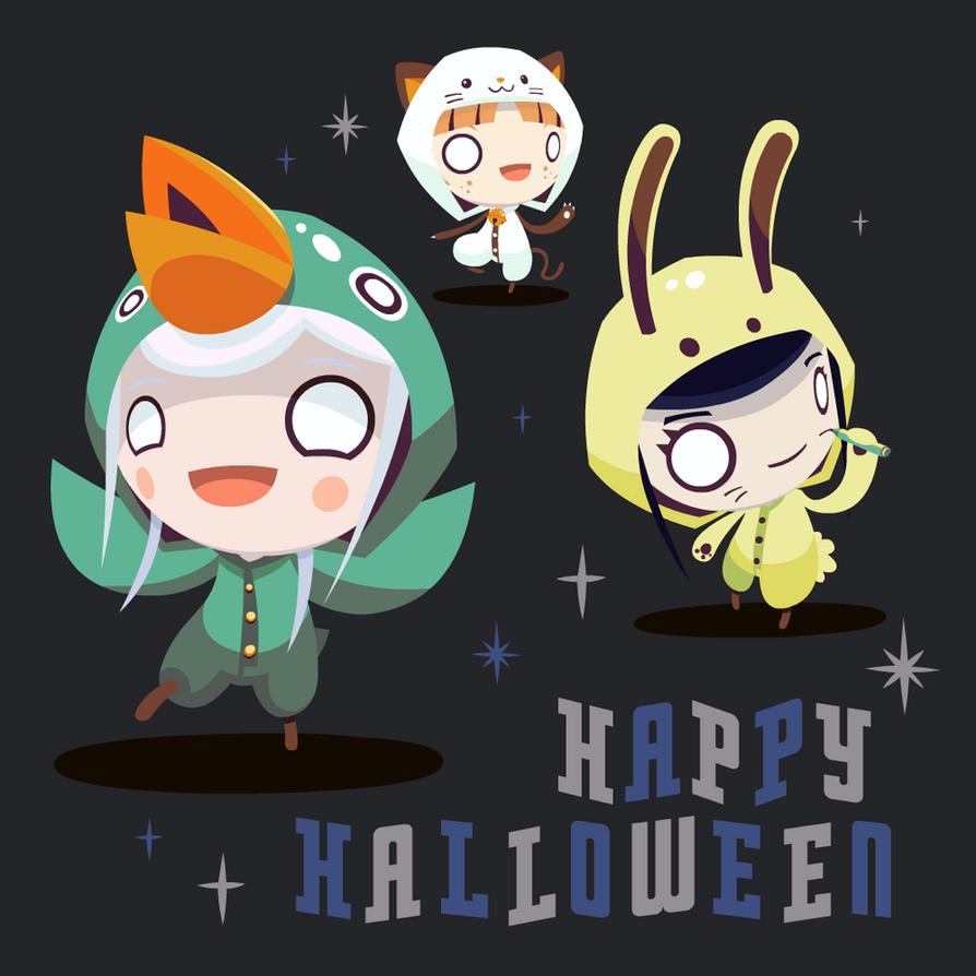 Happy Halloween from Radio Gosha 2015 KIGU PARTY!! by GoshaDole