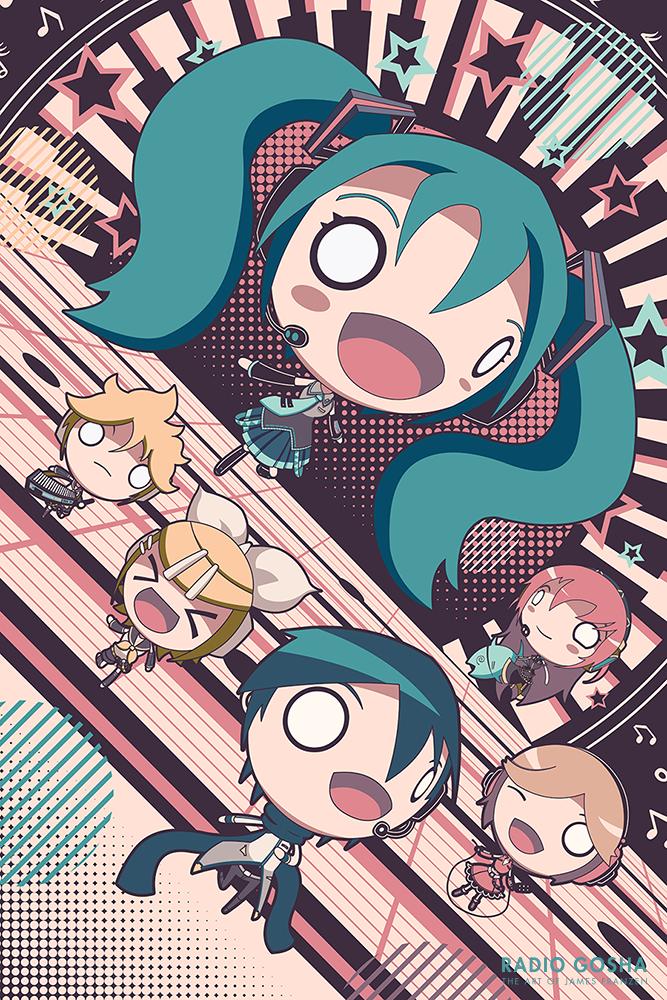 Hatsune Miku Vocaloid Commission by GoshaDole