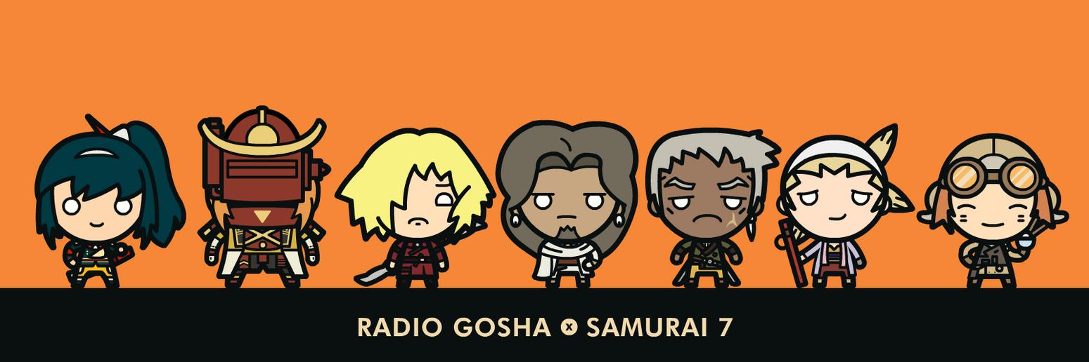 Radio Gosha x Samurai 7 by GoshaDole