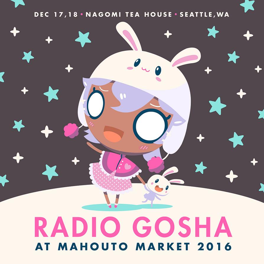 Radio Gosha x Mahouto Market 2016 by GoshaDole