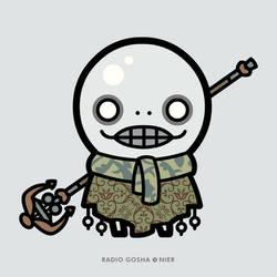 Radio Gosha x NieR - Emil