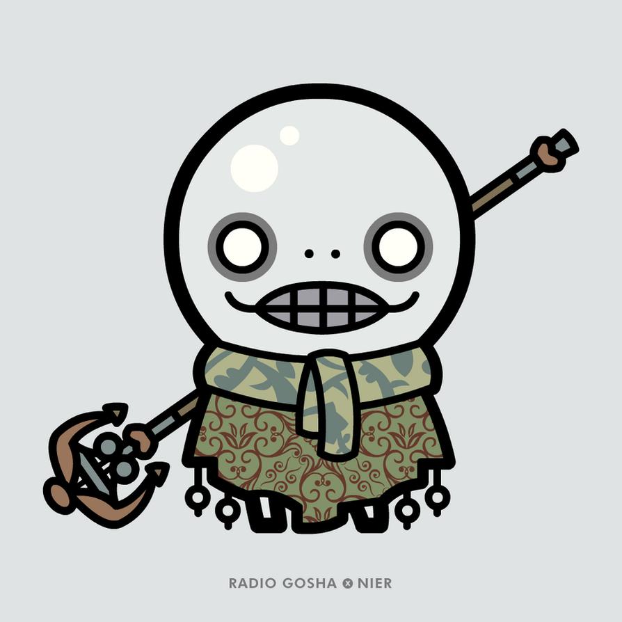 Radio Gosha x NieR - Emil by GoshaDole