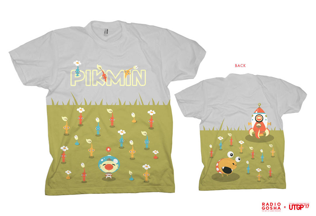04ee743dd UTGP 2017 Uniqlo x Nintendo entry - Pikmin by GoshaDole on DeviantArt