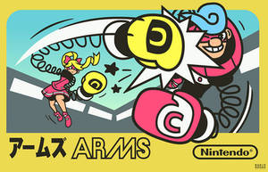 ARMS - Nintendo Switch FAMICOM Edition