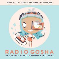 Radio Gosha x Seattle Retro Gaming Expo 2017 by GoshaDole