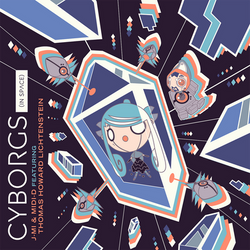 Cyborgs (In Space) single cover art